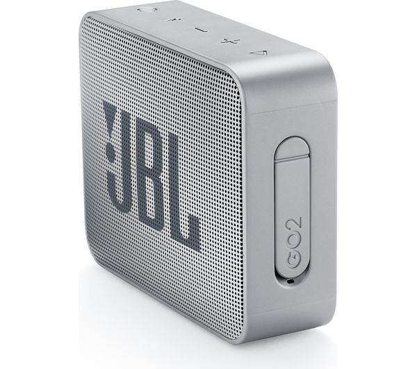 portable speakers silver