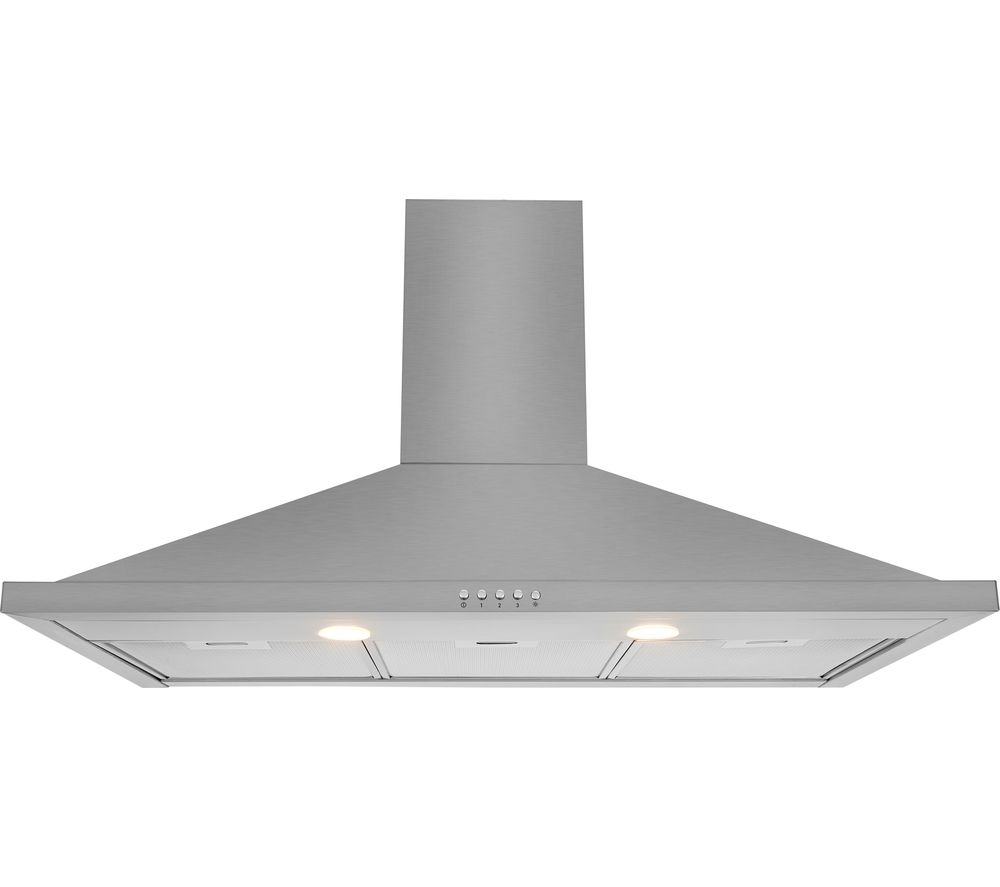 Image of Leisure 90cm Stainless Steel Chimney Cooker Hood H92X