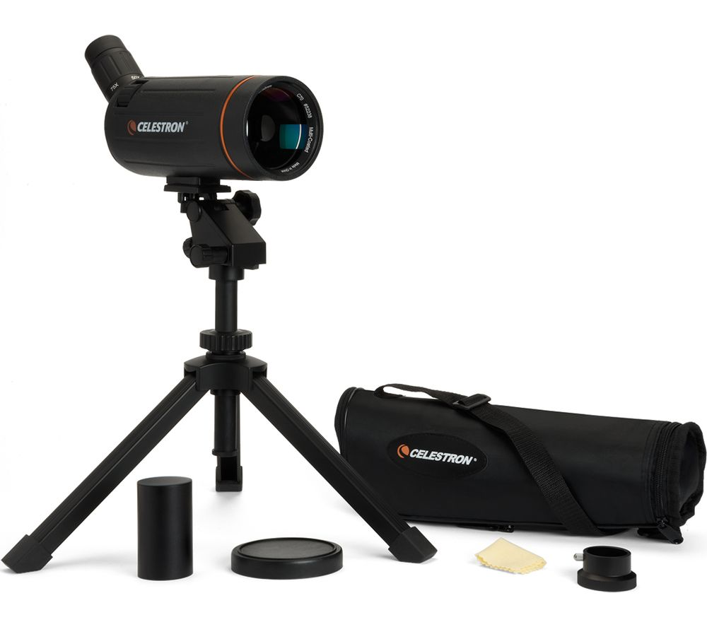 Image of Celestron C70 Mini Mak 75 x 70 mm Spotting Scope - Black, Black
