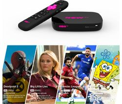 Smart Box with 4K & Voice Search - 4 NOW TV Pass Bundle