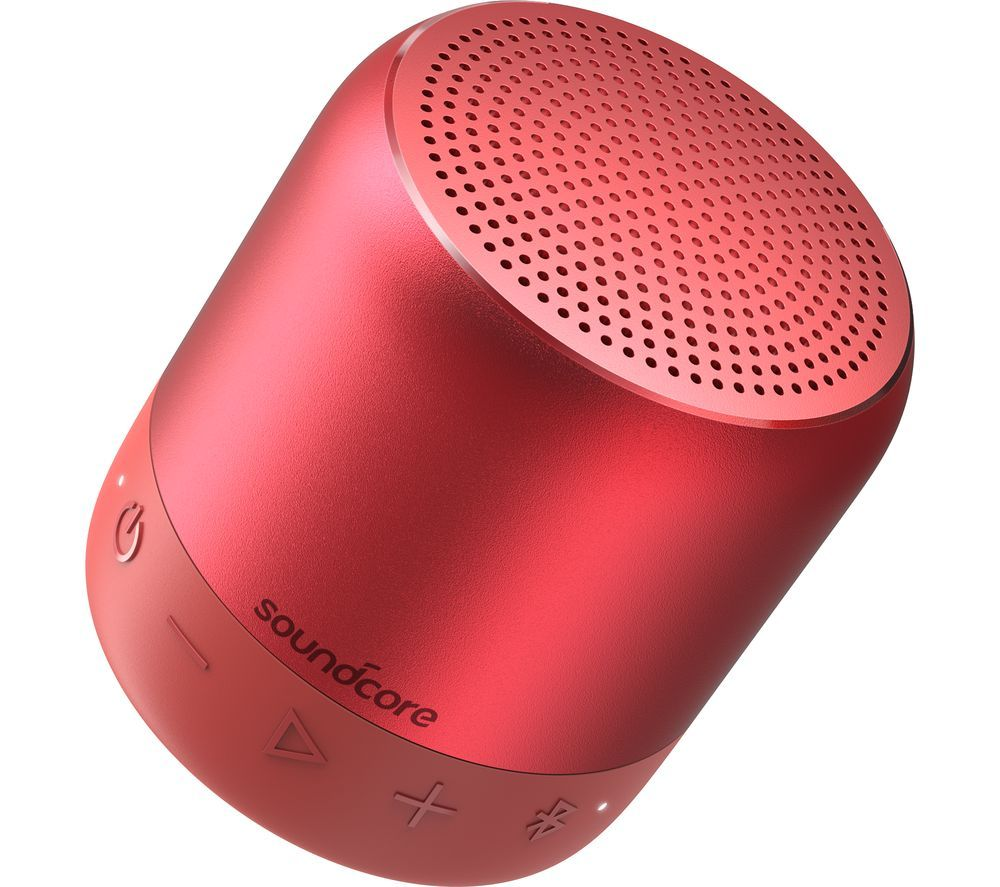 Image of SOUNDCORE Mini 2 Portable Bluetooth Speaker - Red, Red