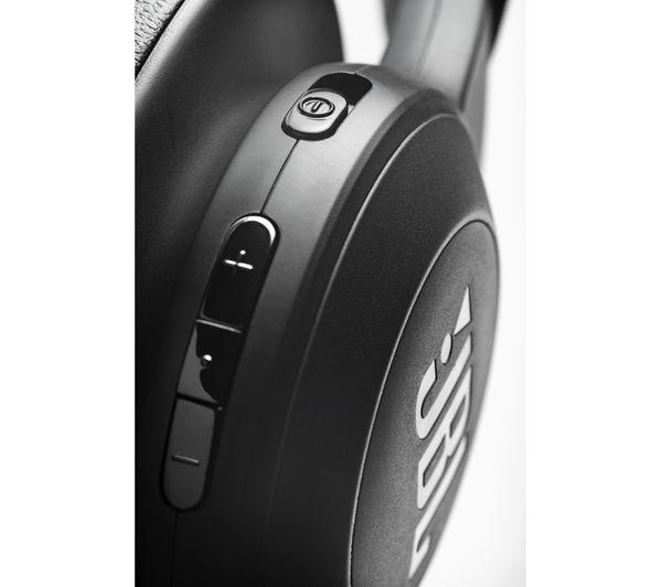JBL E500BT Wireless Bluetooth Headphones - Black