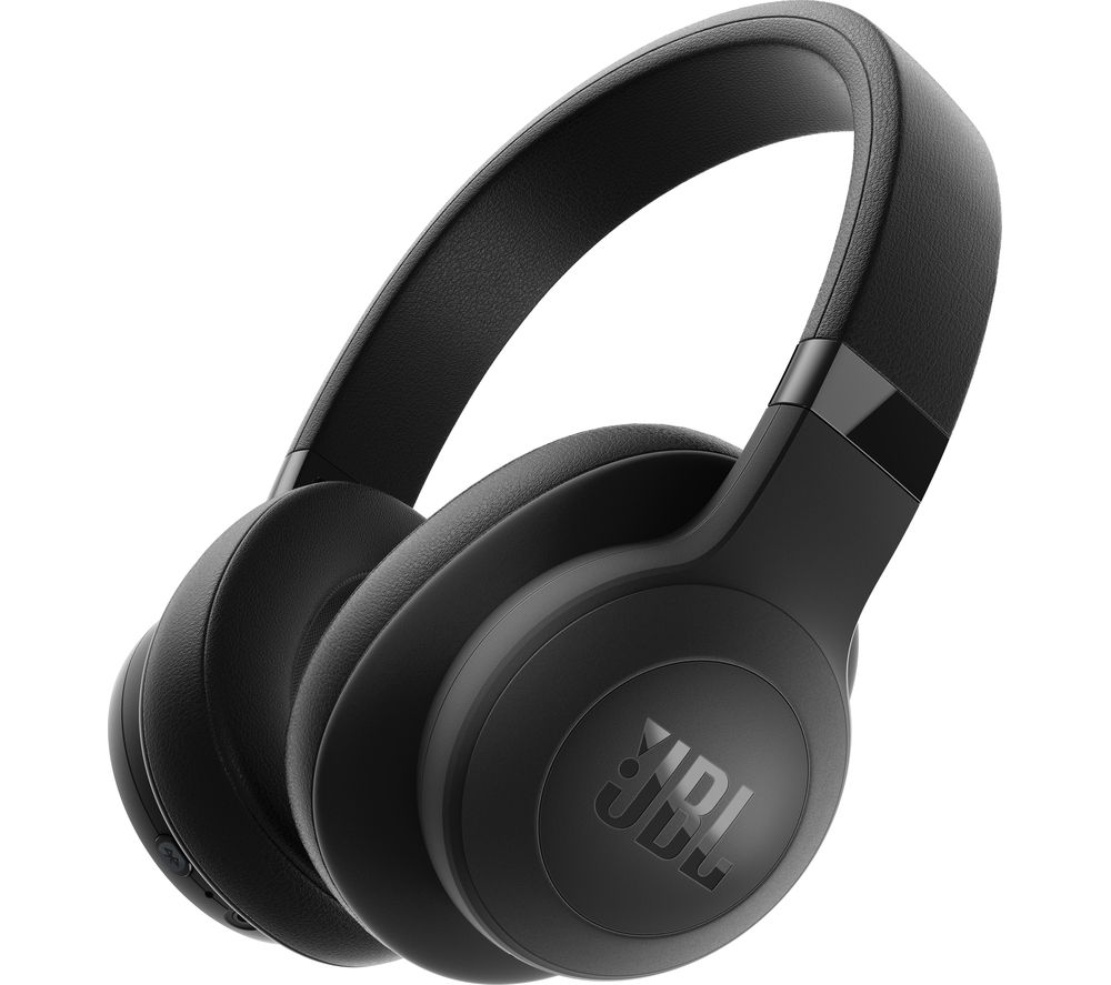 JBL E500BT Wireless Bluetooth Headphones - Black