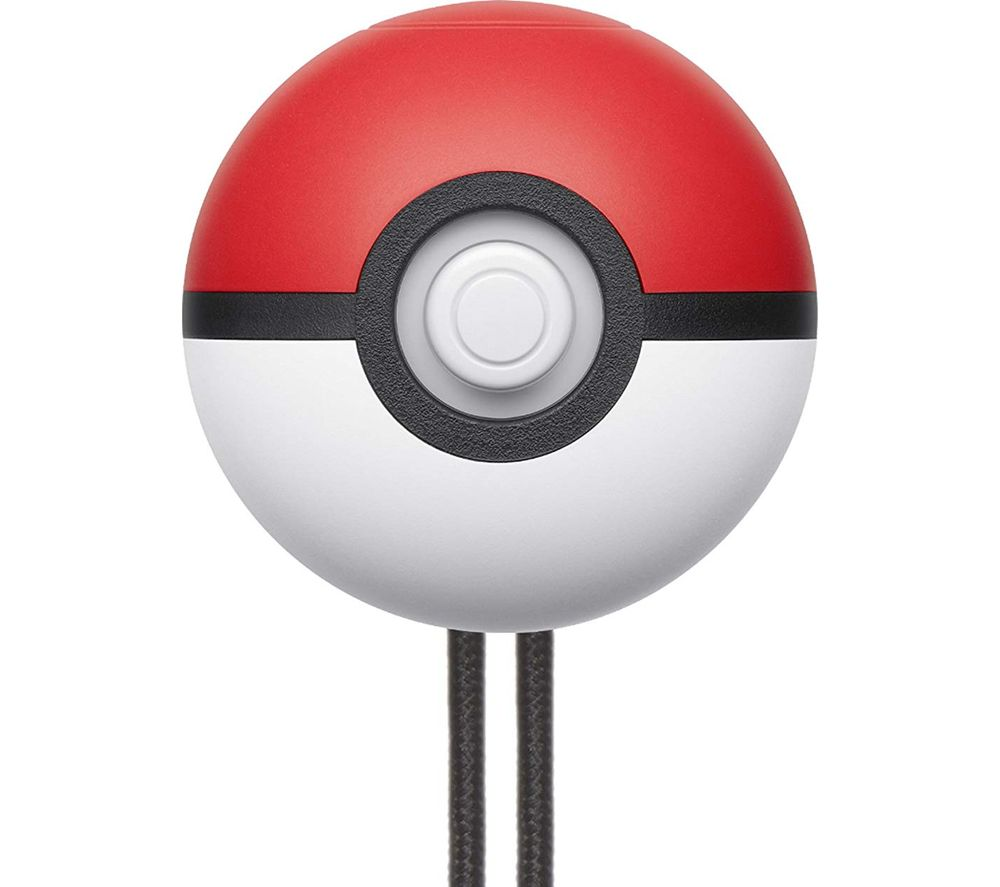 NINTENDO Switch Poke Ball Plus Controller - Red & White, Red