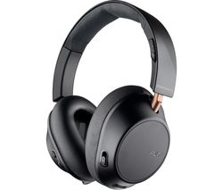 PLANTRONICS Back Beat Go 810 Wireless Bluetooth Noise-Cancelling Headphones - Graphite Black