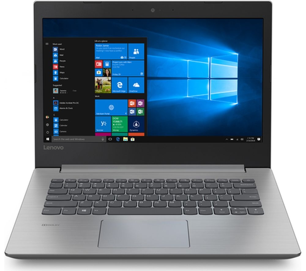"LENOVO 330-14AST 14"" AMD A4 Laptop - 1 TB HDD, Grey"
