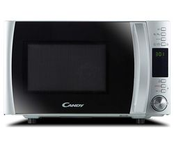 CANDY CMXW 30DS-UK Solo Microwave - Silver
