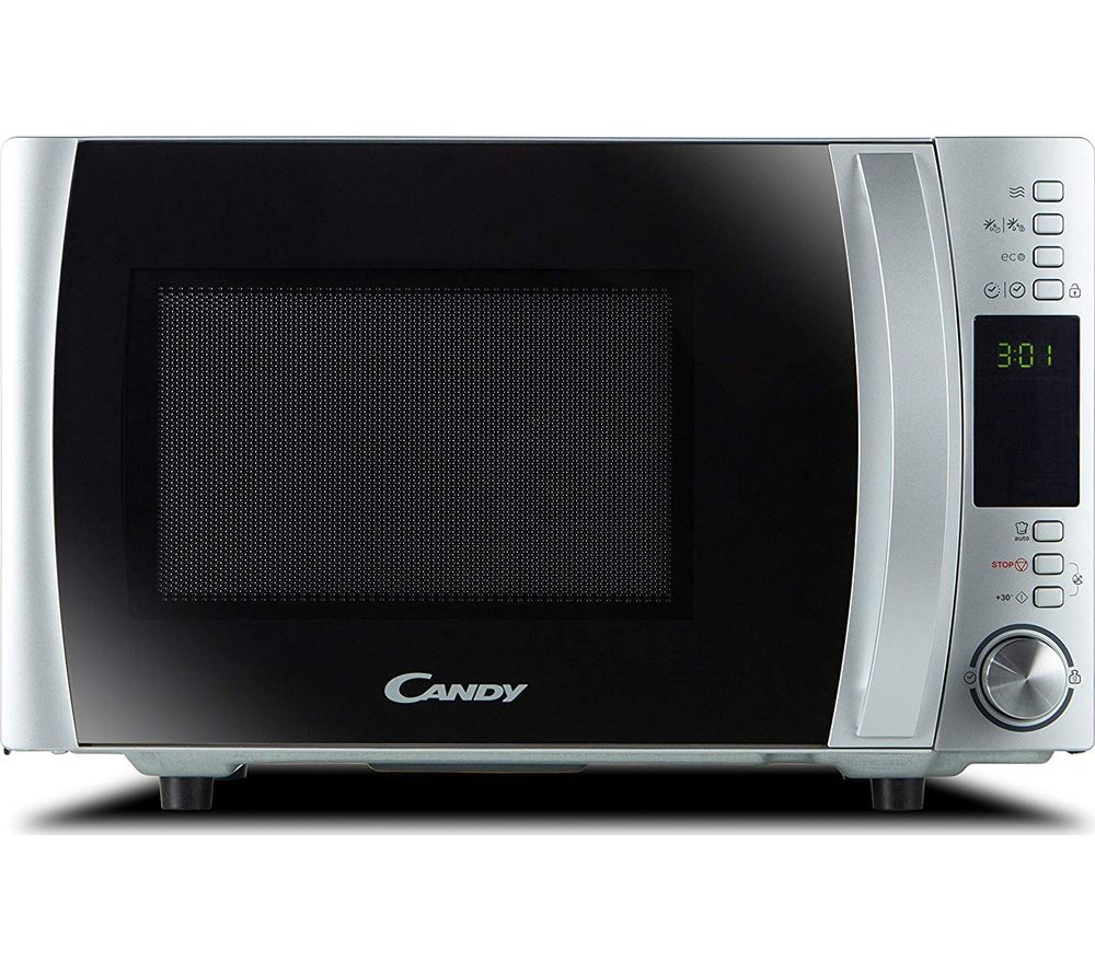 CMXW 30DS-UK Solo Microwave - Silver, Silver