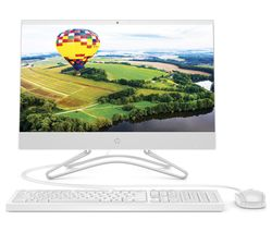 "HP 22-c0047 21.5"" All-in-One PC - Intel® Celeron™, 128 GB SSD, White"