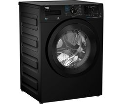 BEKO Pro WDX850130B Bluetooth 8 kg Washer Dryer - Black