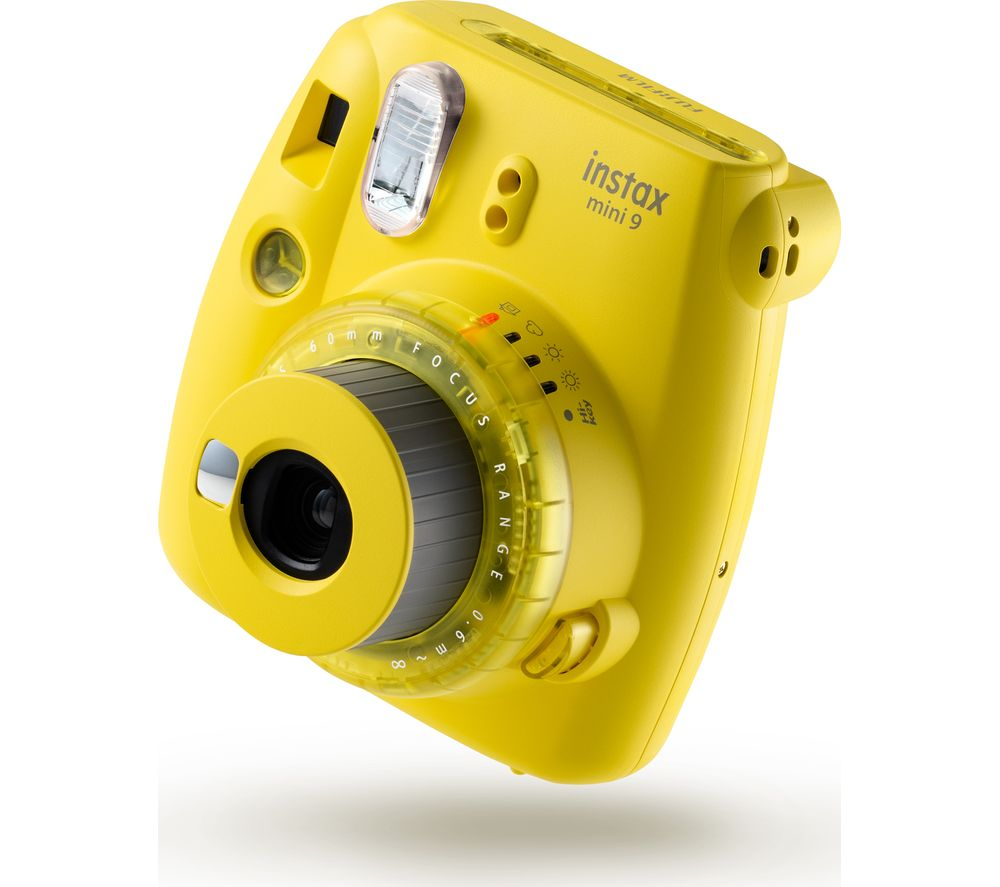 INSTAX mini 9 Instant Camera - Yellow