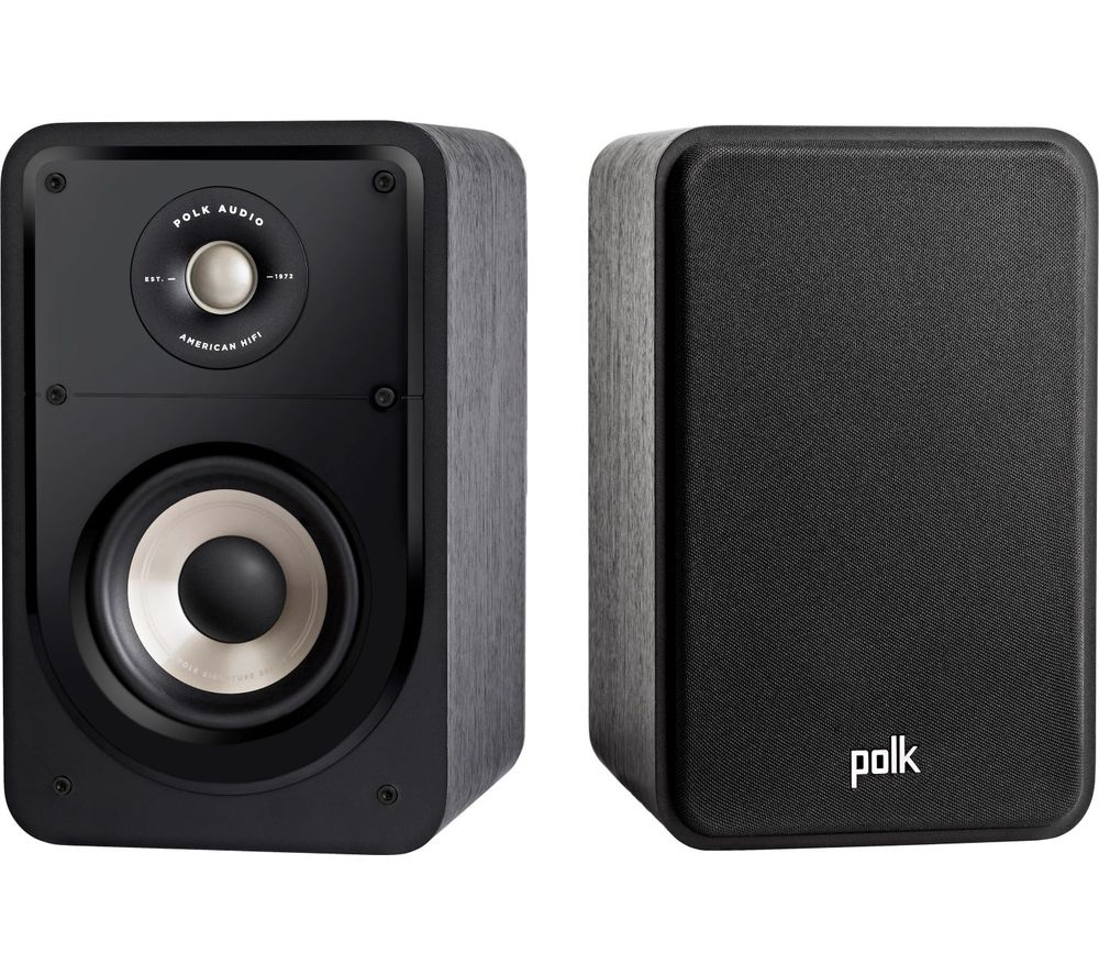 POLK AUDIO Signature S15E Bookshelf Speakers - Black