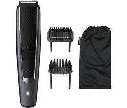 PHILIPS Series 5000 BT5502/13 Beard Trimmer - Black & Grey