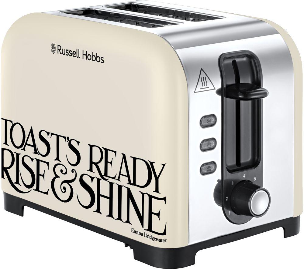 RUSSELL HOBBS Emma Bridgewater Toast & Marmalade 2-Slice Toaster - Cream, Cream