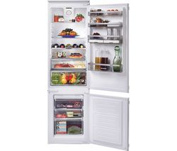 HOOVER BHBF 182 NUK Integrated 70/30 Fridge Freezer - Fixed Hinge Best Price, Cheapest Prices