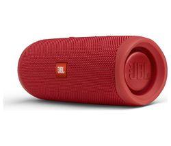 JBL Flip 5 Portable Bluetooth Speaker - Red