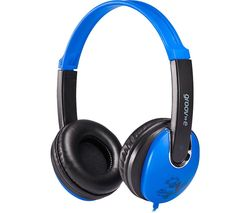 GROOV-E KIDZ GV-590-BB Kids Headphones - Blue & Black