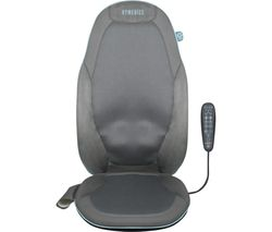 GSM-800H-GB Gel Shiatsu Back Massager with Heat - Grey