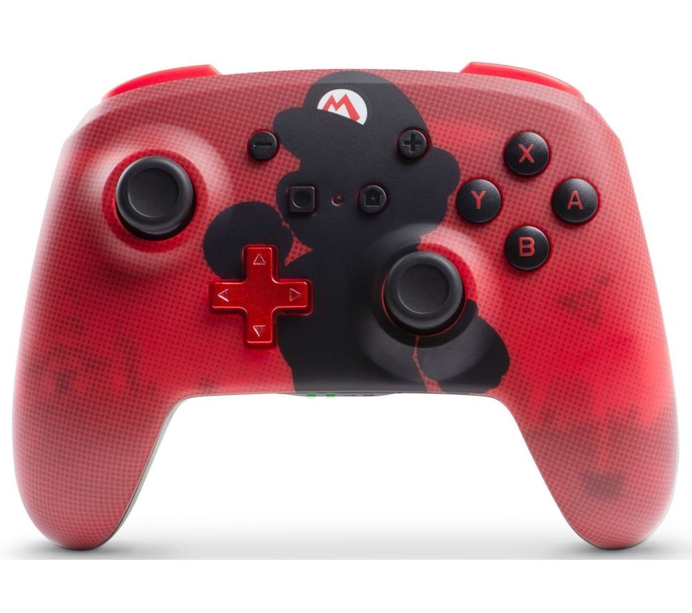POWERA Nintendo Switch Enhanced Wireless Controller - Red Mario, Red