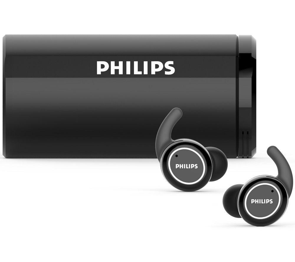 PHILIPS Action Fit TAST702BK/00 Wireless Sports Earphones - Black