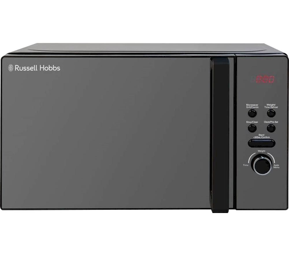 RUSSELLHOB RHM2034B Microwave with Grill - Stainless Steel, Stainless Steel