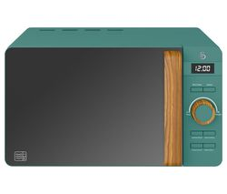 SWAN Nordic SM22036GREN Solo Microwave - Green Best Price, Cheapest Prices