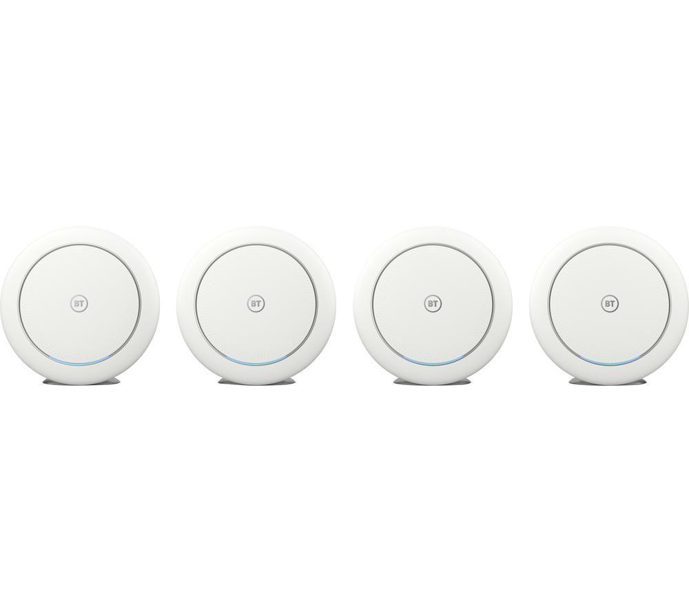 BT Premium Whole Home WiFi System - Quad Pack