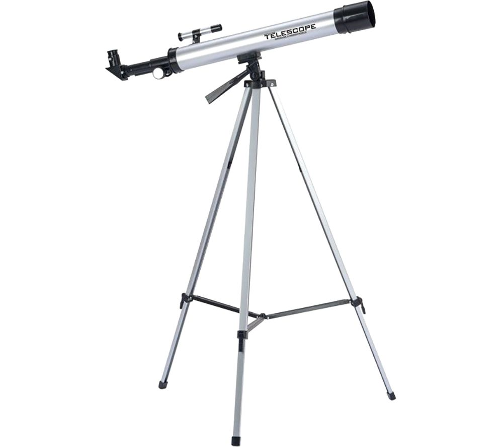 TOYRIFIC TY6105 Kids Refractor Telescope - Silver