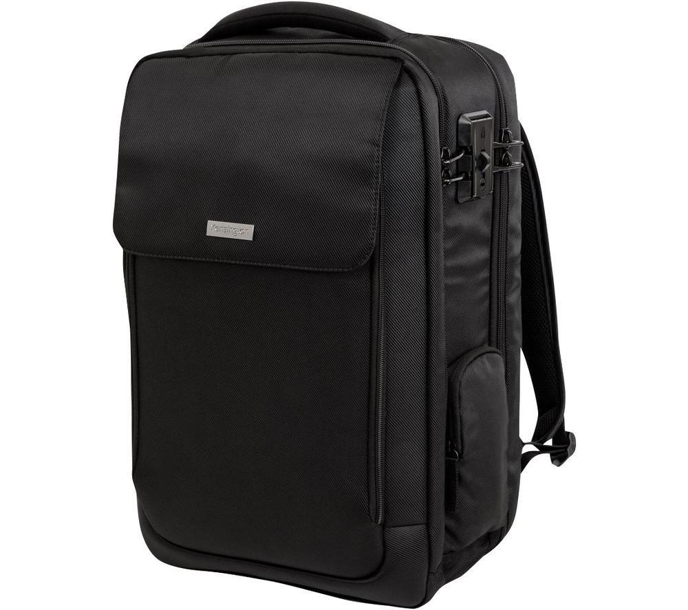 """KENSINGTON SecureTrek 17"""" Laptop Backpack - Black"""