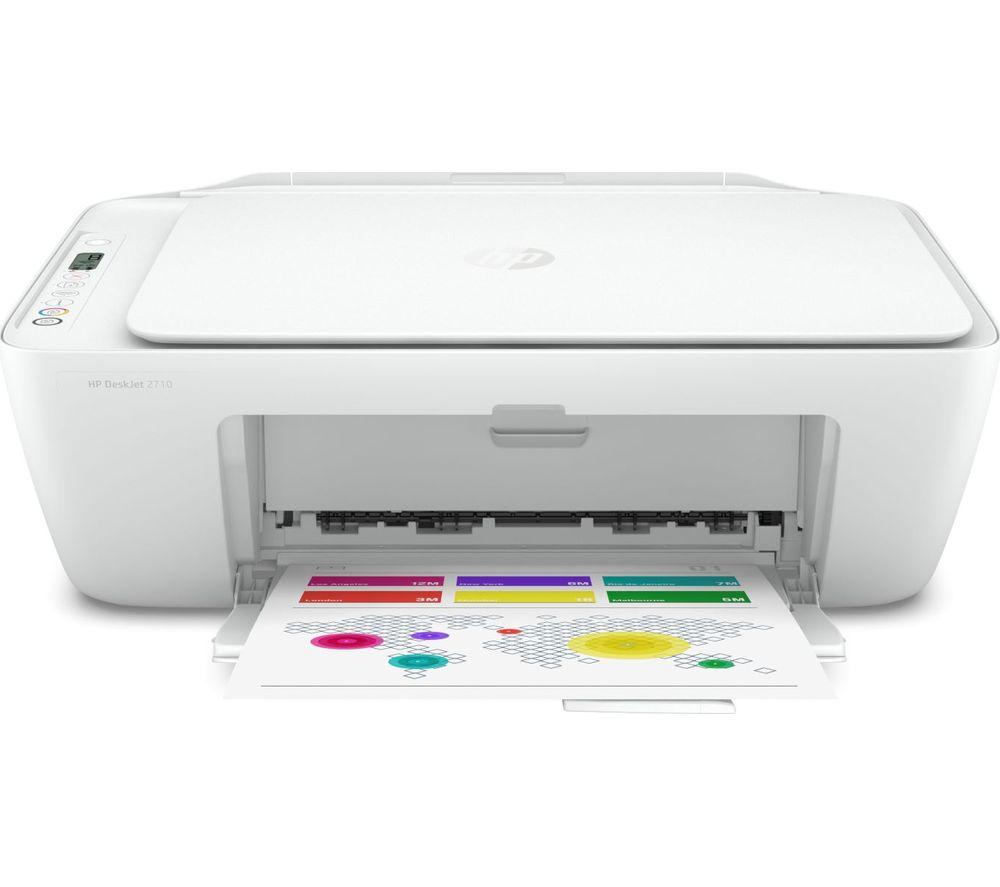 HP DeskJet 2710 All-in-One Wireless Inkjet Printer