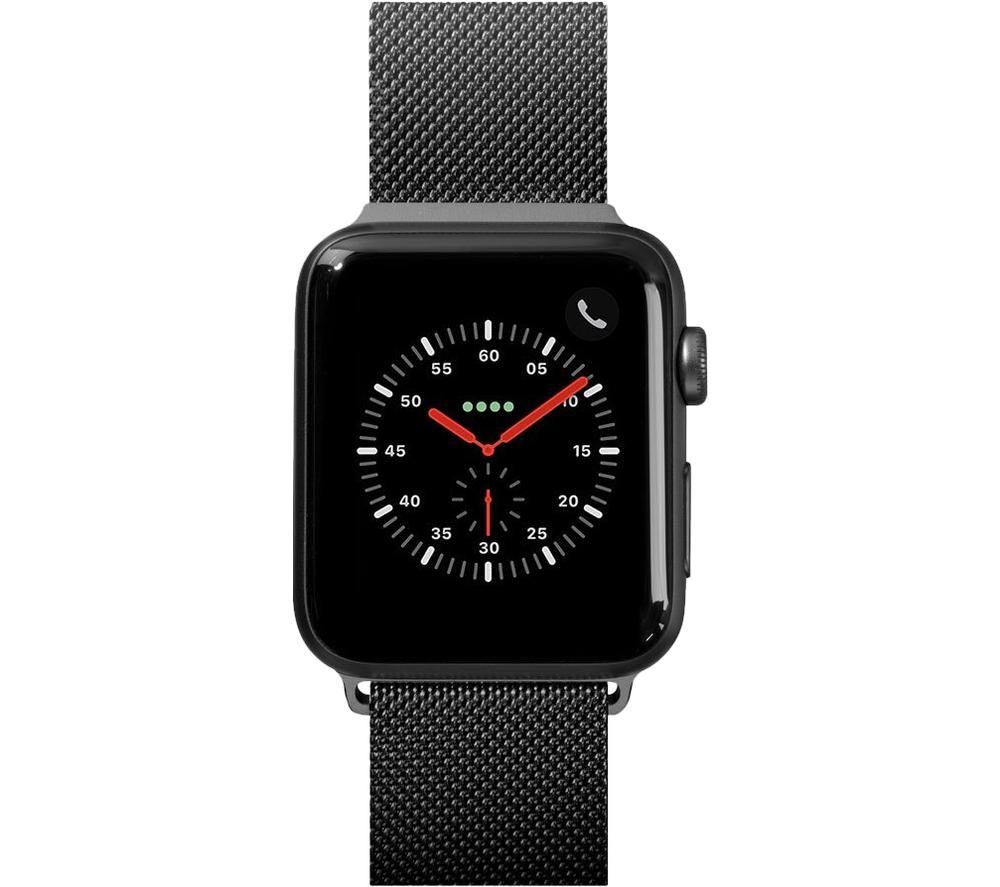 LAUT Steel Loop 42-44 mm Apple Watch Strap - Black