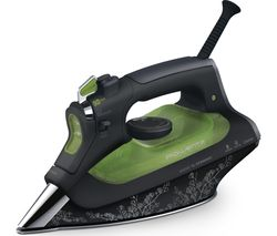 ROWENTA Rowenta Eco Intelligence DW6030 Steam Iron - Black & Green Best Price, Cheapest Prices