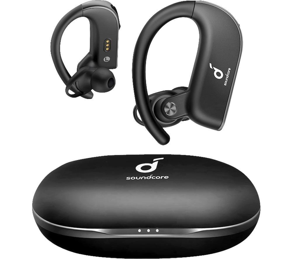 SOUNDCORE Spirit X2 Wireless Bluetooth Sports Earphones - Black