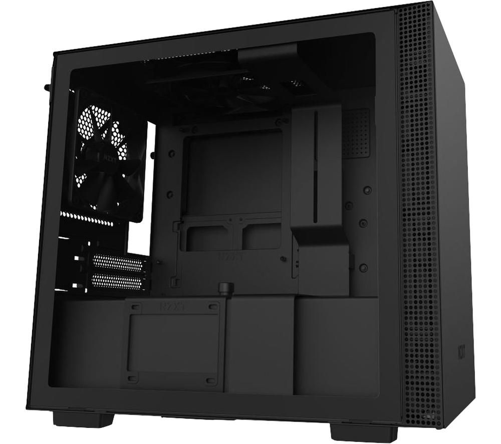 Image of NZXT H210i Mini-ITX Mid-Tower PC Case - Black, Black