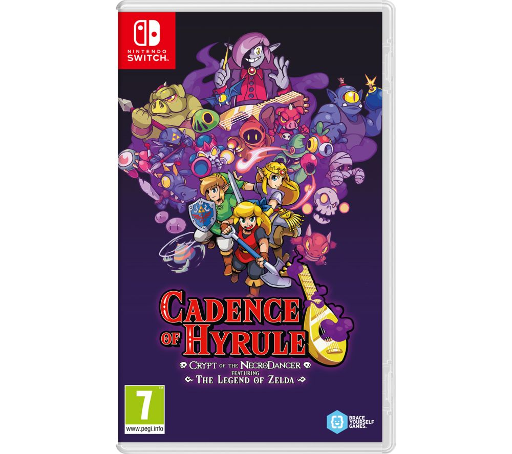Image of NINTENDO SWITCH Cadence of Hyrule: Crypt of the NecroDancer Featuring The Legend of Zelda