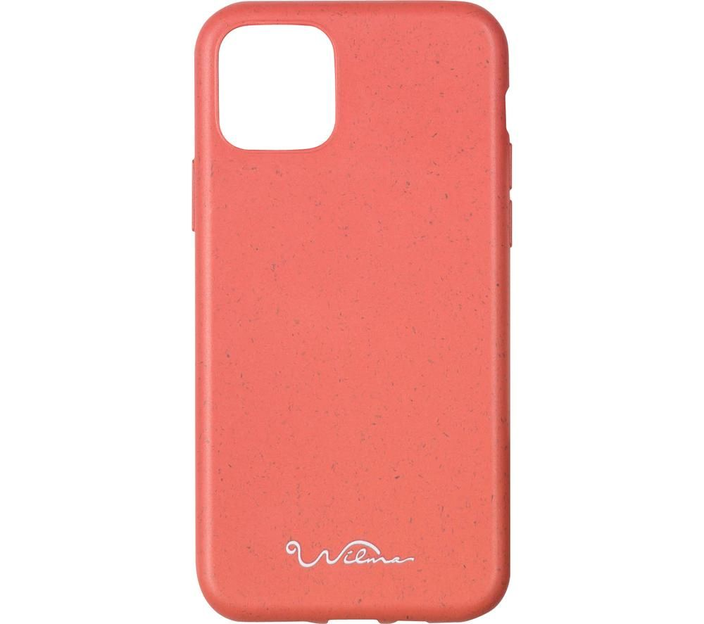 WILMA Stop Ocean Plastic Pollution iPhone 11 Case - Red