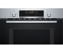 CMA585GS0B Built-in Combination Microwave Oven - Stainless Steel