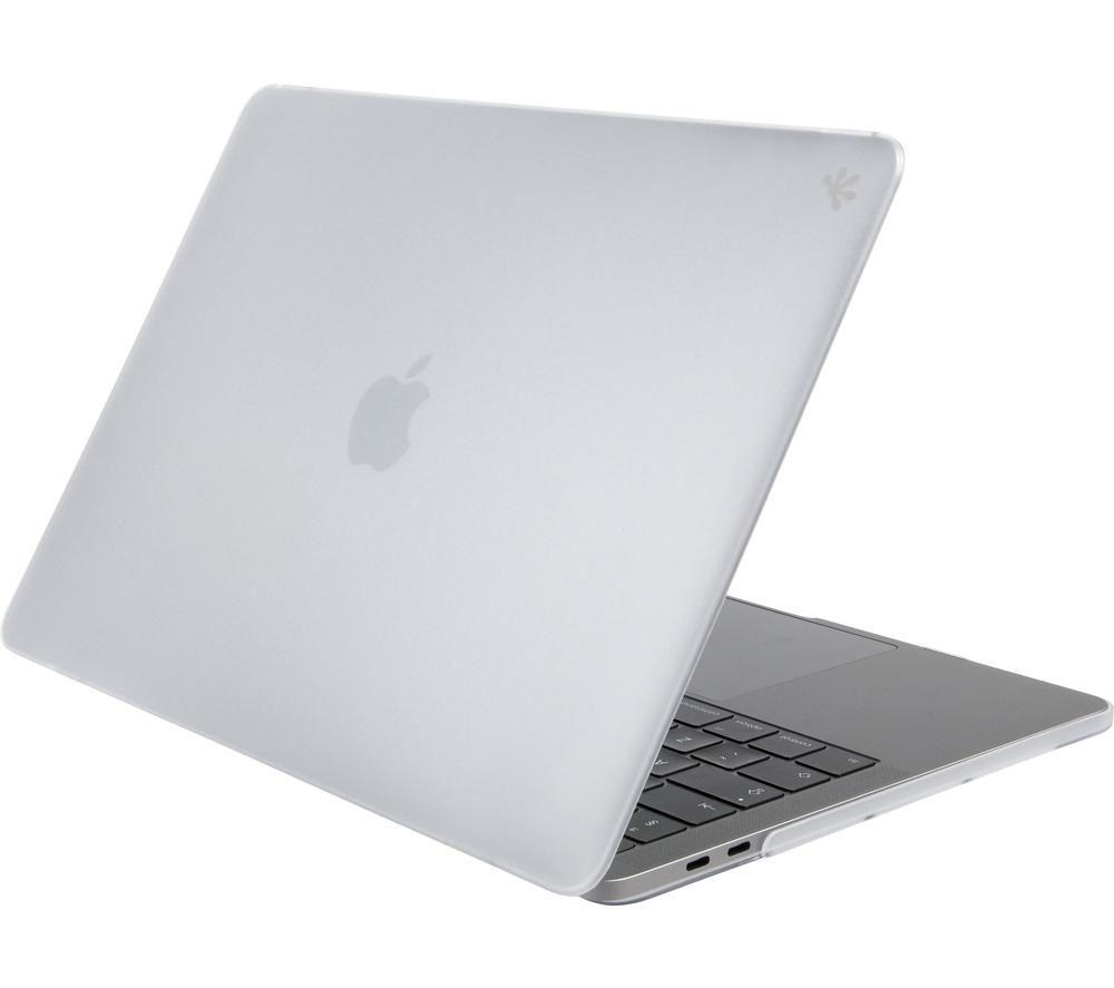 "GECKO COVERS MCLPP13C21 13.3"" MacBook Pro Hardshell Case - Frozen White, White"