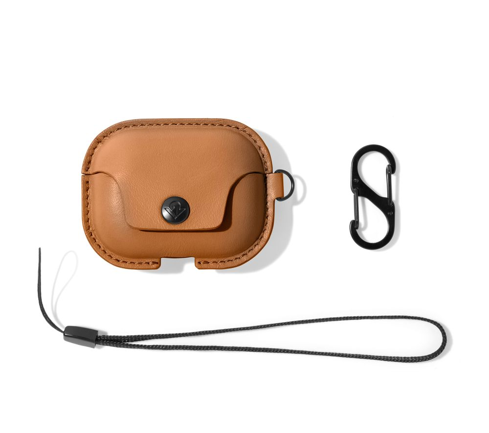 TWELVE SOUTH AirSnap AirPod Pro Case Cover - Brown