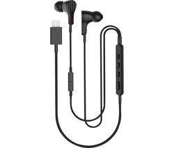 Rayz Smart Noise-Cancelling USB Type-C Headphones - Black