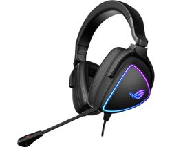 ROG Delta S Gaming Headset - Black