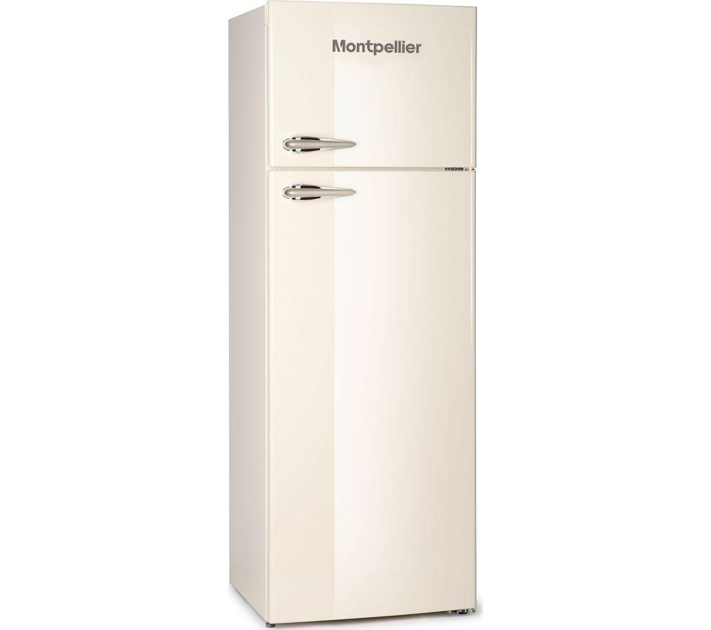 MONTPELLIER Retro MAB346C 80/20 Fridge Freezer - Cream