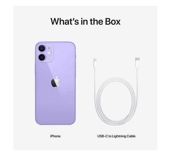 Apple iPhone 12 Mini - 64 GB, Purple 5