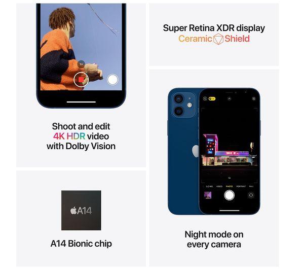 Apple iPhone 12 Mini - 64 GB, Purple 6