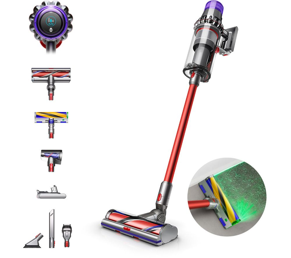 DYSON Outsize Absolute Cordless Vacuum Cleaner - Red & Nickel, Red