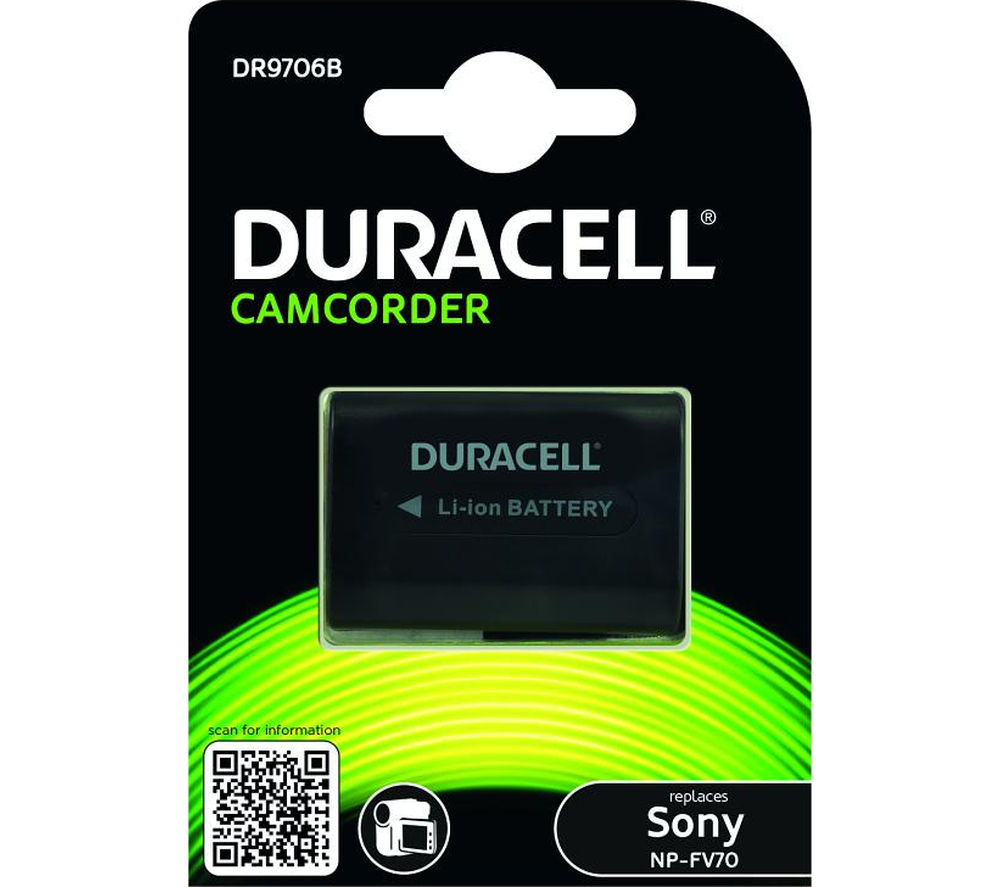 DURACELL DR9706B Lithium-ion Camcorder Battery
