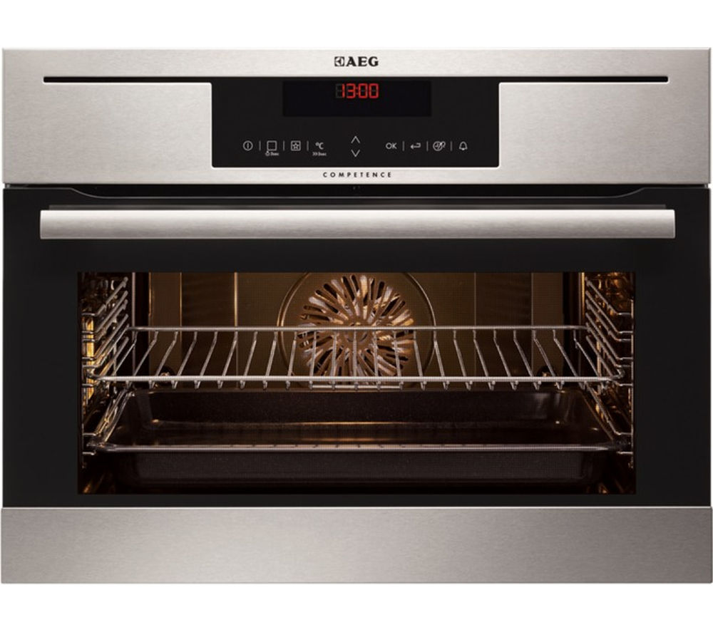 AEG KP8404021M Compact Electric Oven - Stainless Steel, Stainless Steel Review thumbnail