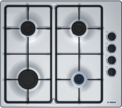 BOSCH Serie 2 PBP6B5B60 Gas Hob - Stainless Steel