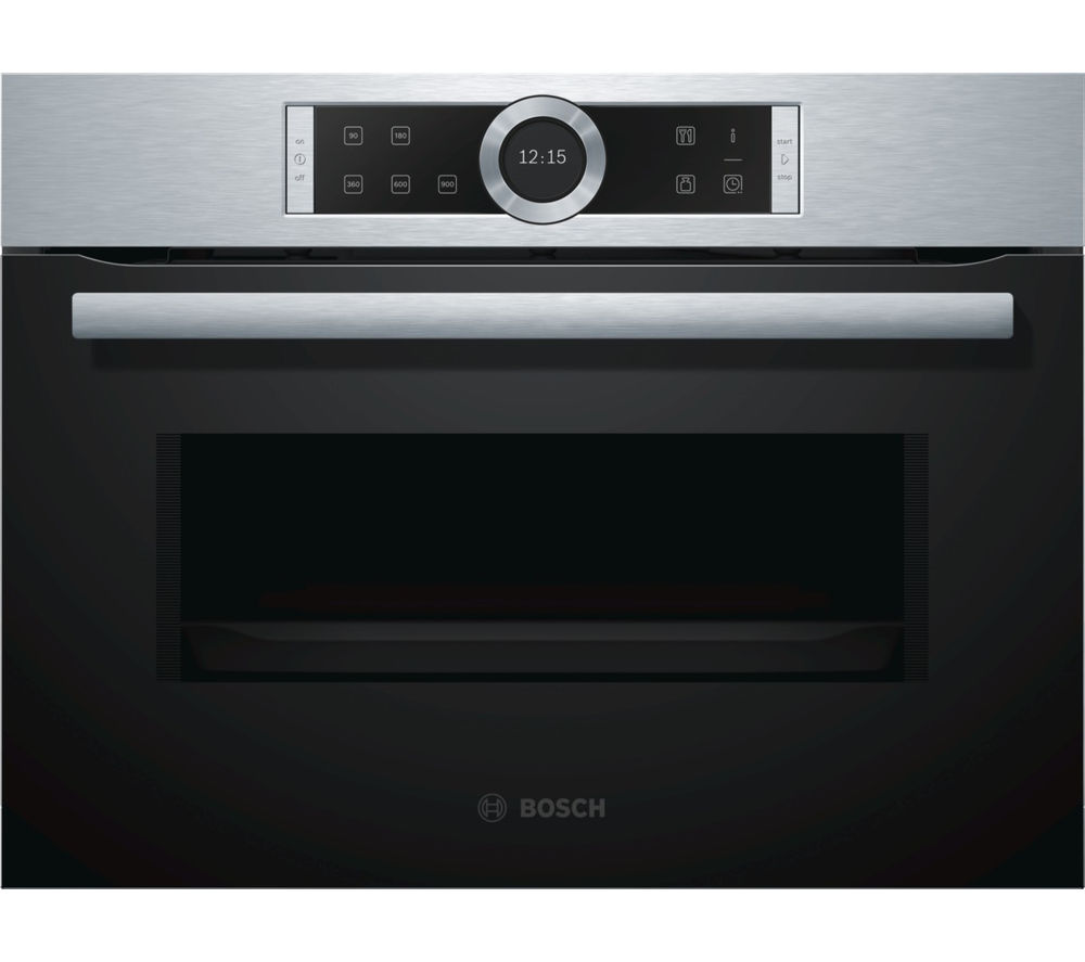 Compare retail prices of Bosch CFA634GS1B Solo Microwave Stainless Steel to get the best deal online