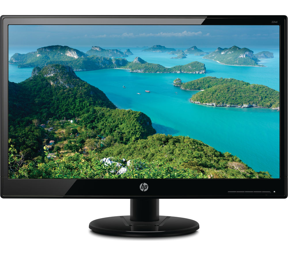 hp 22kd full hd 21 5 led monitor deals pc world. Black Bedroom Furniture Sets. Home Design Ideas